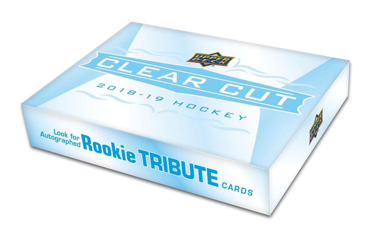 2018-19 Upper Deck Clear Cut Hockey Hobby Box