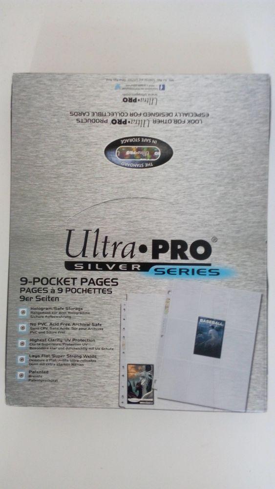 ULTRA PRO Silver fólie na 9 karet 100 ks