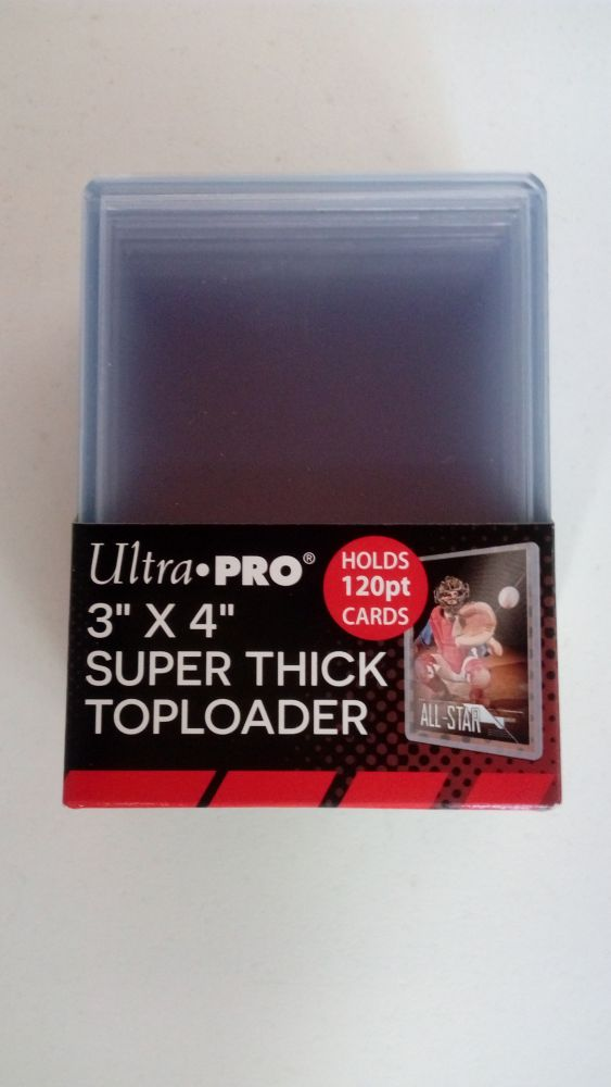 Ultra Pro Plastový toploader 120 Pt. - 10 ks