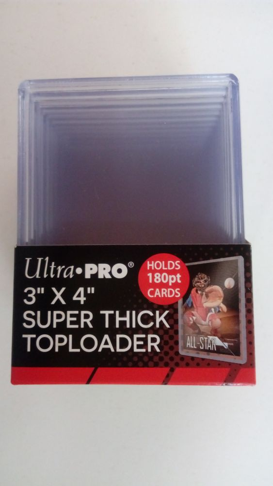 Ultra Pro Plastový toploader 180 Pt. - 10 ks