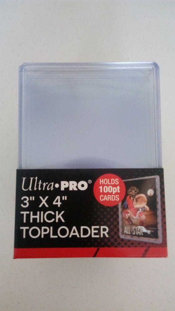 Ultra Pro Plastový toploader 100 Pt. - 25 ks