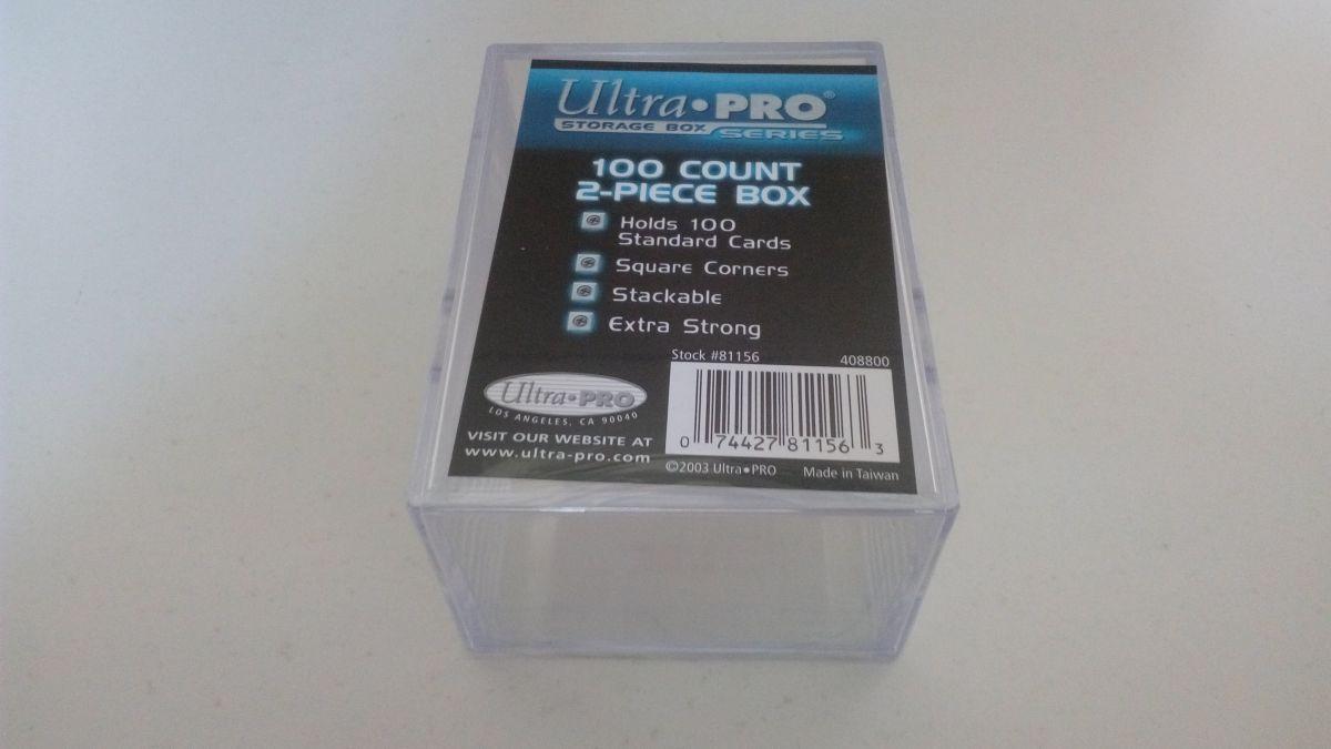 Ultra Pro Plastová krabička pro 100 karet velikosti 35 Pt.