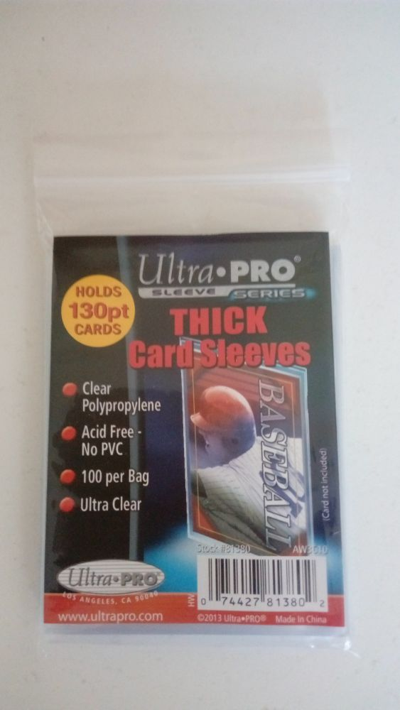 Ultra Pro Soft Sleeves do 130 Pt.