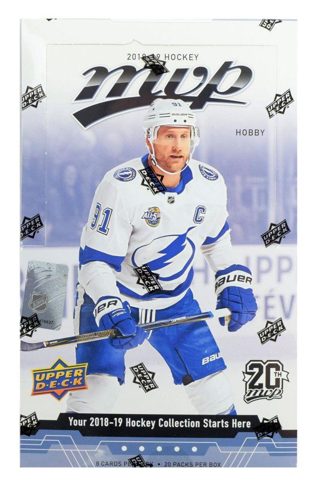 2018-19 Upper Deck MVP Hockey Hobby Box