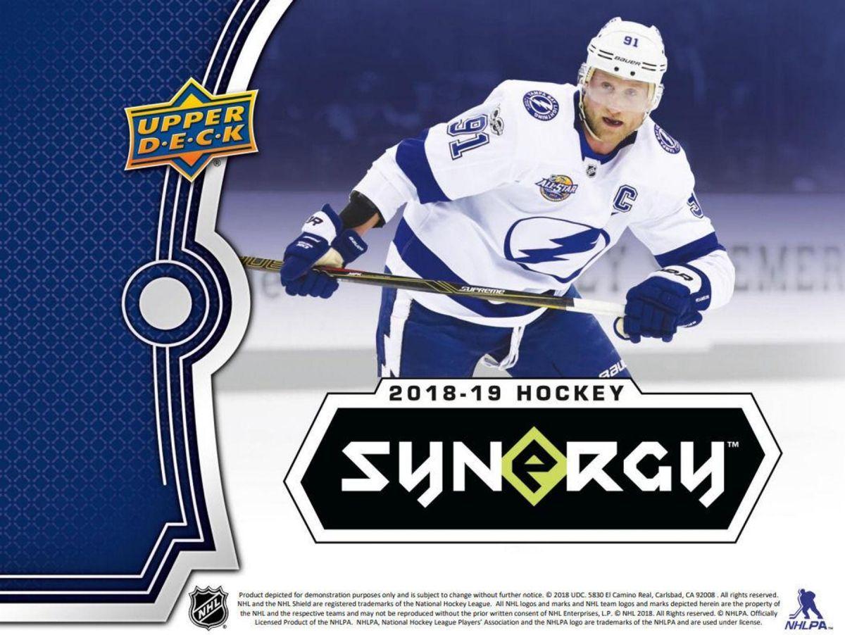 2018-19 Upper Deck Synergy Hockey Hobby Box