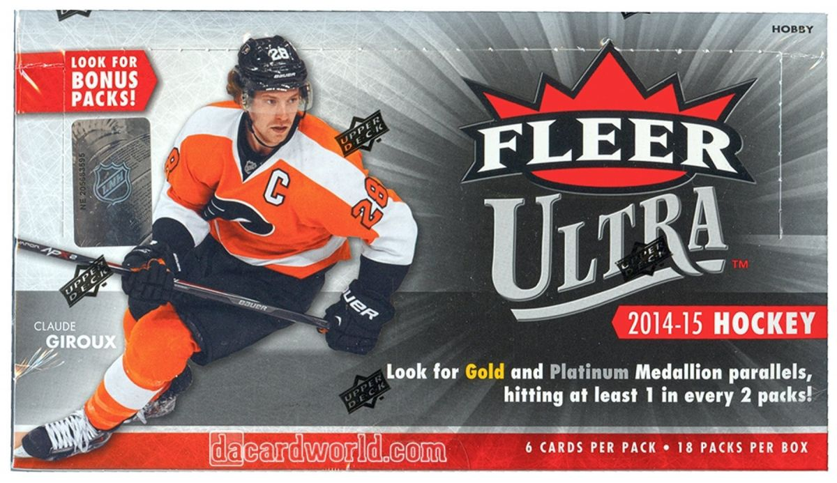 2014-15 Upper Deck Fleer Ultra Hobby Balíček