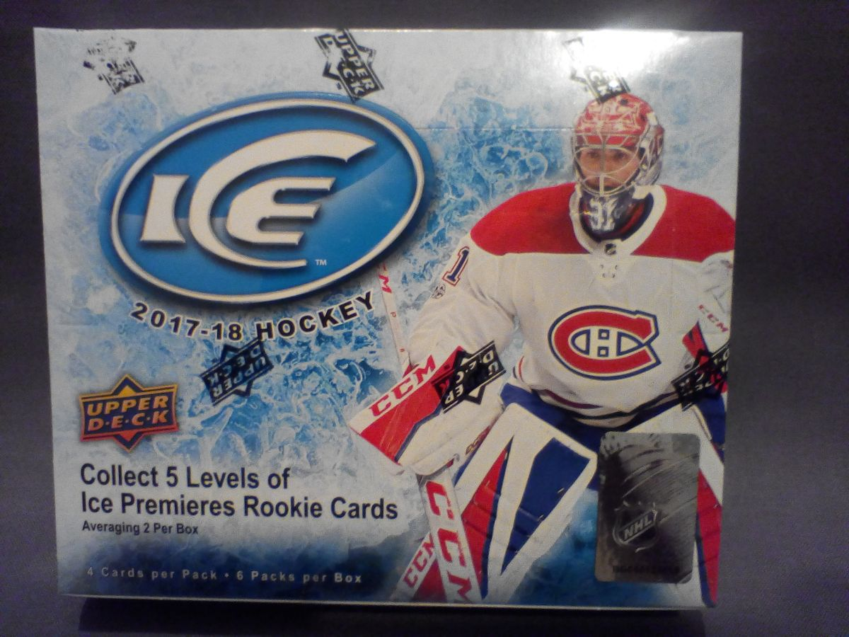2017-18 Upper Deck Ice Hockey Hobby Balíček