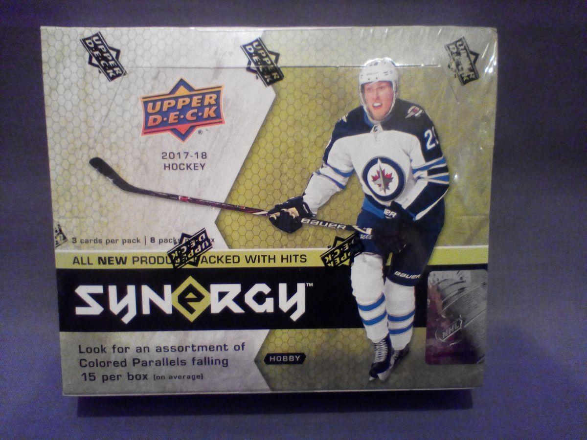 2017-18 Upper Deck Synergy Hockey Hobby Balíček