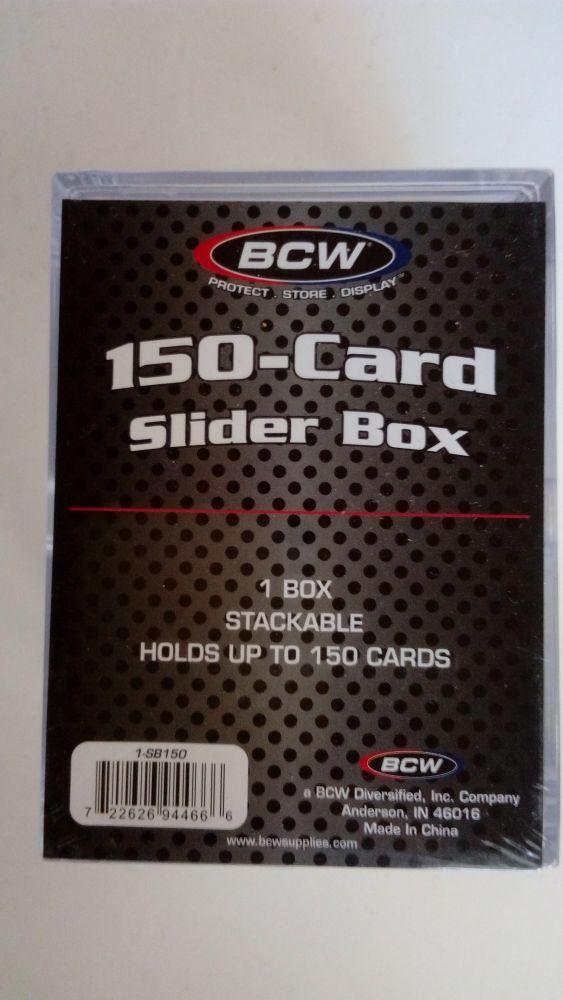 BCW Plastová krabička pro 150 karet velikosti 35 Pt.