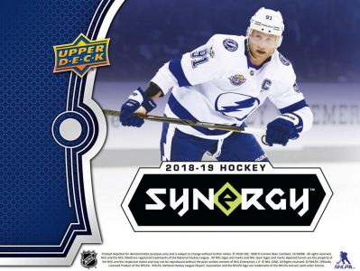 2018-19 Upper Deck Synergy Hockey Hobby Balíček